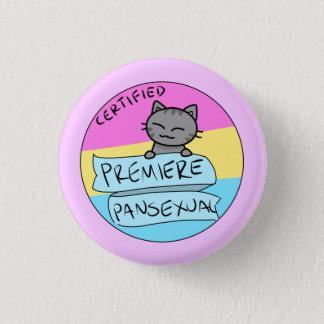 Premiere Pansexual! 1 Inch Round Button