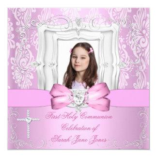 Première photo assez rose de sainte communion de
