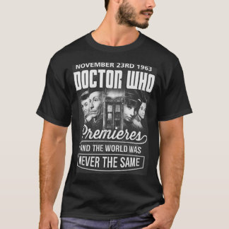 PREMIERES D.O.C.T.O.R. W.H.O.? T-Shirt