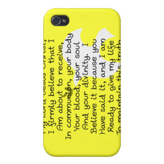 Premiers cadeaux de jour de sainte communion coque iPhone 4/4S