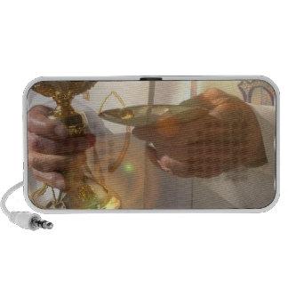 Premiers haut-parleurs de Portable de communion