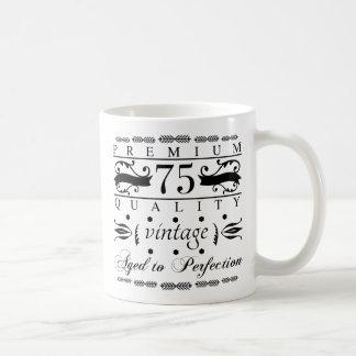 Premium 75th Birthday Coffee Mug