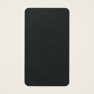 Premium Black Plain Trendy Modern Minimalist Business Card