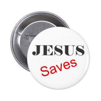 Premium Jesus Saves Button