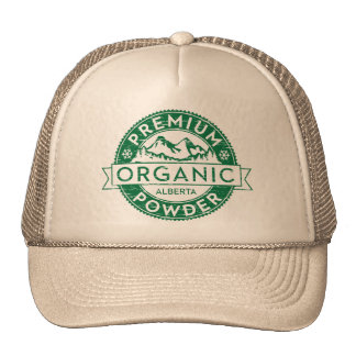 Premium Organic Alberta Powder Trucker Hat