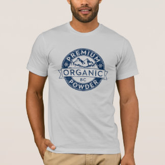 Premium Organic British Columbia Powder T-Shirt