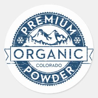 Premium Organic Colorado Powder Sticker