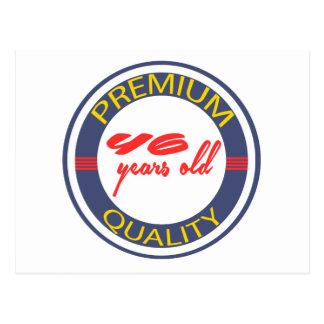 Premium quality 46 years old postcard