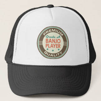 Premium Quality Banjo Player (Funny) Gift Trucker Hat