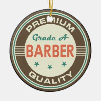Premium Quality Barber (Funny) Gift Ceramic Ornament