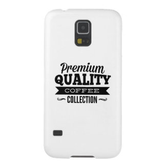 Premium Quality Coffee Collection Galaxy S5 Cover