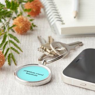 premium round keychain