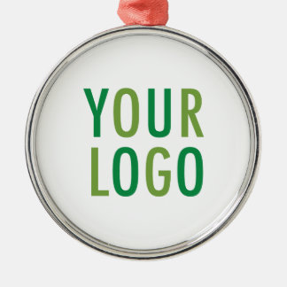 Premium Round Ornament with Custom Logo Branding