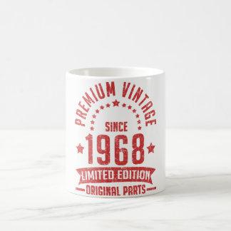 premium vintage 1968 limited edition original part coffee mug