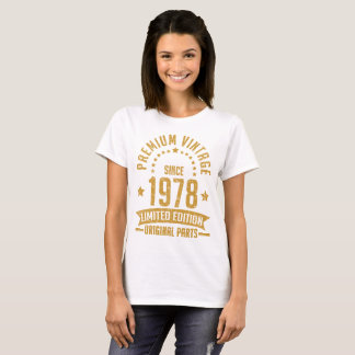premium vintage  1978 limited edition original T-Shirt
