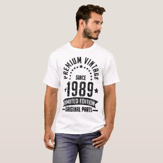 premium vintage since 1989 limited edition T-Shirt