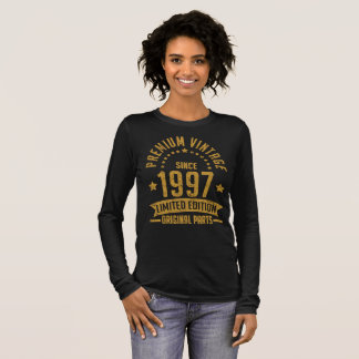 premium vintage since 1997 limited edition long sleeve T-Shirt