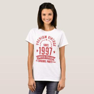 premium vintage since 1997 limited edition T-Shirt