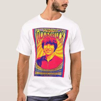 Prenant à Woodstock la pièce en t noire T-shirt