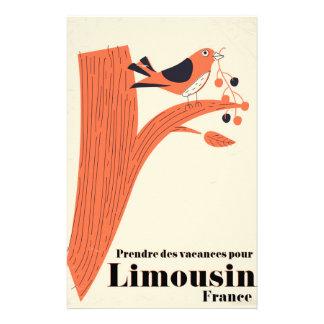 Prendre des vacances pour Limousin France . Stationery