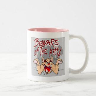 Prenez garde de la tasse de Kitty