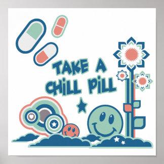 Prenez une pilule froide poster