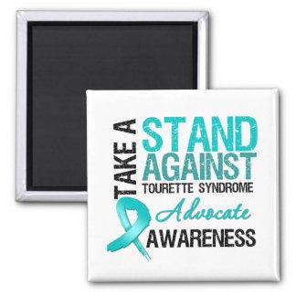 Prenez une position contre le syndrome de Tourette Aimants Pour Réfrigérateur