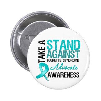 Prenez une position contre le syndrome de Tourette Badge Avec Épingle