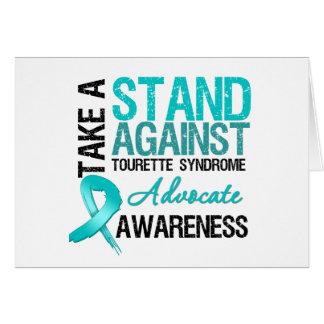 Prenez une position contre le syndrome de Tourette Carte De Vœux