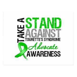Prenez une position contre le syndrome de Tourette Cartes Postales