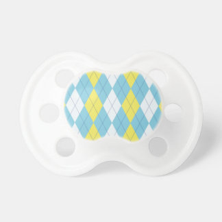 Prep School Reject Argyle Baby Pacifiers