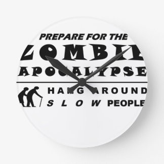 Prepare for the zombie wall clock