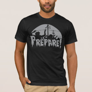 Prepare For Zombies T-Shirt