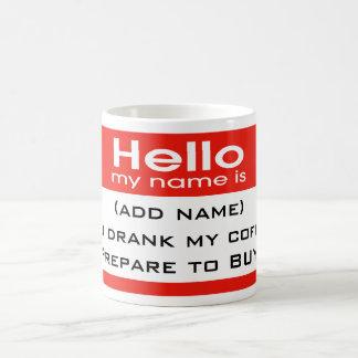 Prepare to Buy! Coffee Mug
