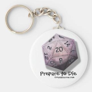 Prepare to Die Keychain
