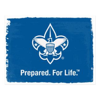 Prepared. For Life Postcard