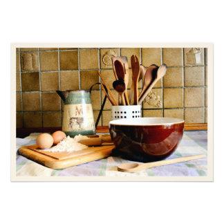 Préparez pour la cuisson photographies d'art