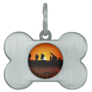 Preparing The Guns Pet Tag