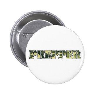 Prepper Pinback Button