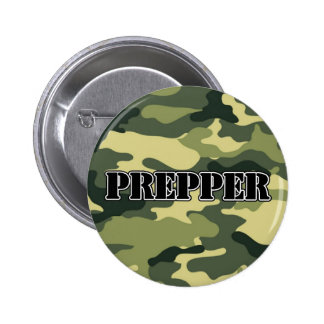 Prepper Camo 2 Inch Round Button