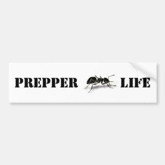 Prepper Life Bumper Sticker