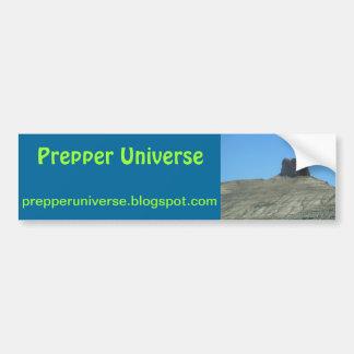 Prepper Universe Utah Scene Bumper Sticker
