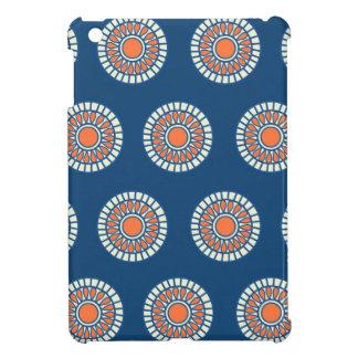 Preppy arabesque polka dot dots tribal pattern iPad mini covers