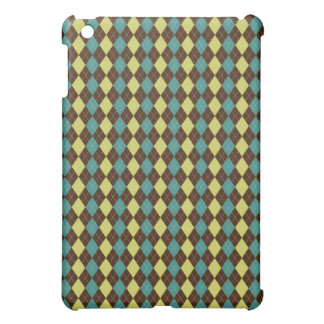preppy argyle Pern casing iPad Mini Cover