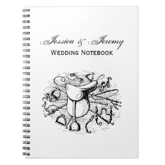 Preppy Equestrian Horse Tack Saddle Bridal Bits Note Books