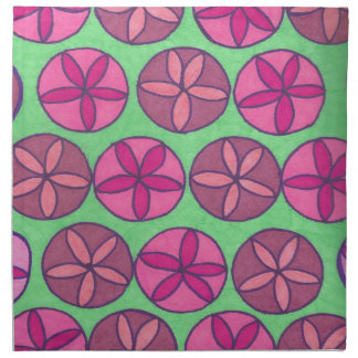 Preppy Flowers Napkin