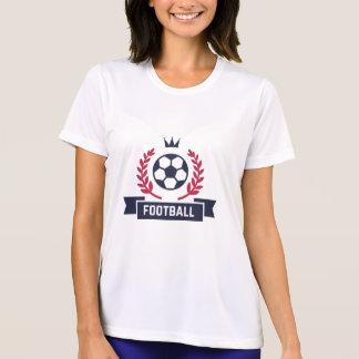 Preppy Football Soccer Custom Player Name & Number T-Shirt