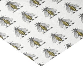 Preppy Heraldic Vintage Bee Coat of Arms Emblem C Tissue Paper