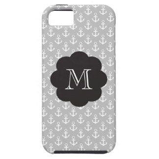 Preppy Monogram Anchors iPhone 5 Case