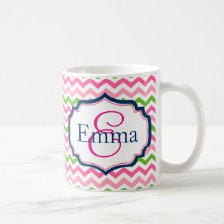 Preppy Monogram Coffee Mug